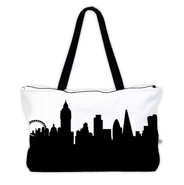 London England Skyline Weekender Tote