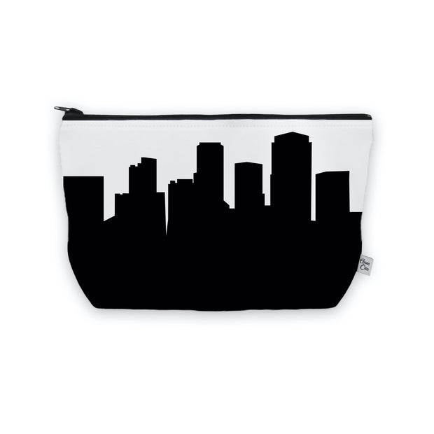 Little Rock AR Skyline Cosmetic Makeup Bag
