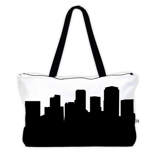 Little Rock AR Skyline Weekender Tote