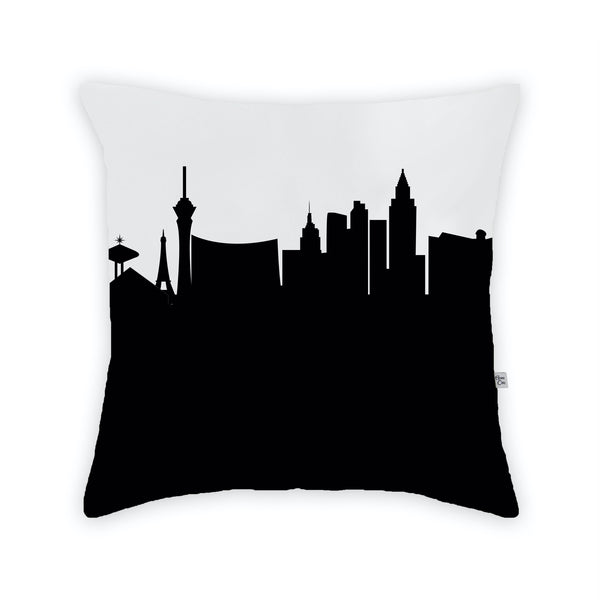 Las Vegas Large Throw Pillow by Anne Cate