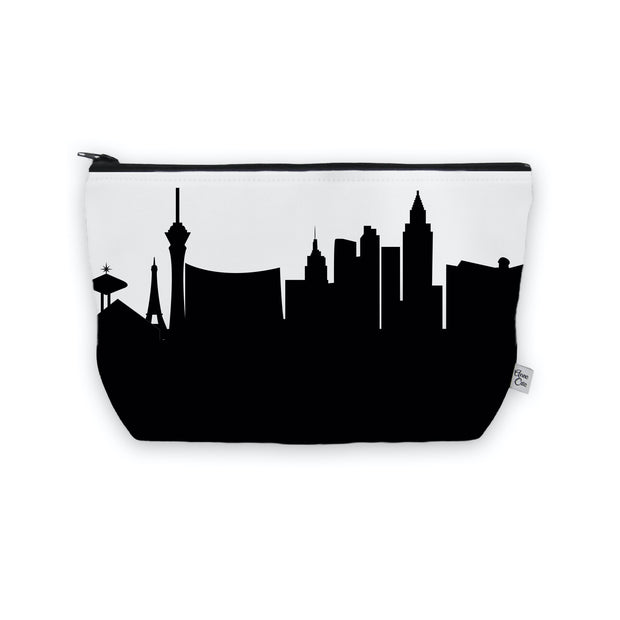 Las Vegas NV Skyline Cosmetic Makeup Bag