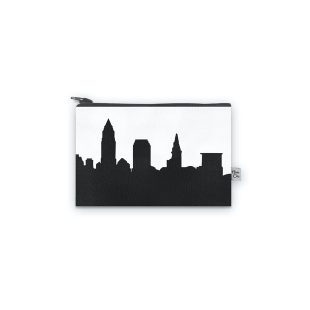 Cleveland OH Skyline Mini Wallet (Vegan Leather)