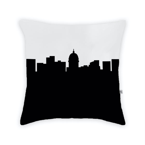 Madison Large Throw Pillow by Anne Cate