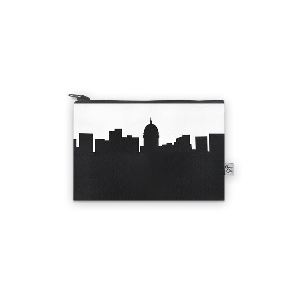 Madison WI Skyline Mini Wallet (Vegan Leather)
