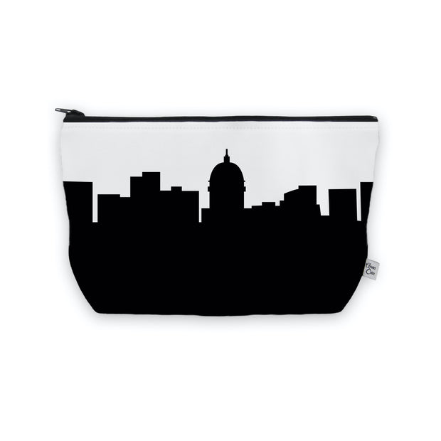 Madison WI Skyline Cosmetic Makeup Bag