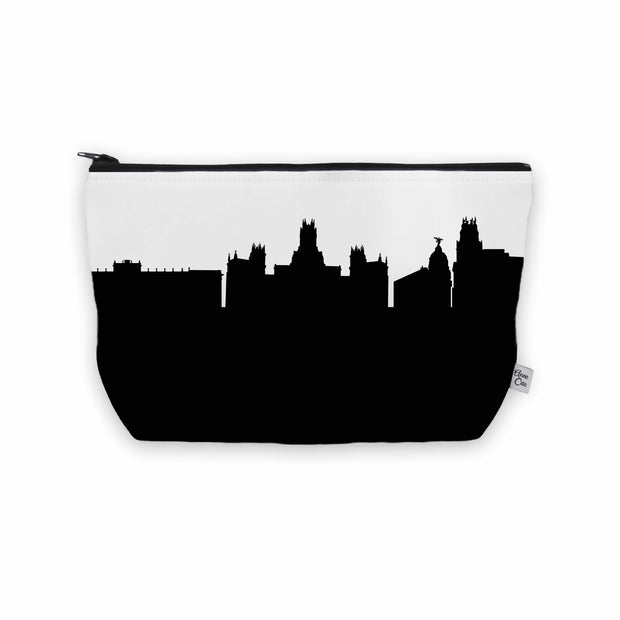 Madrid Spain Skyline Cosmetic Makeup Bag