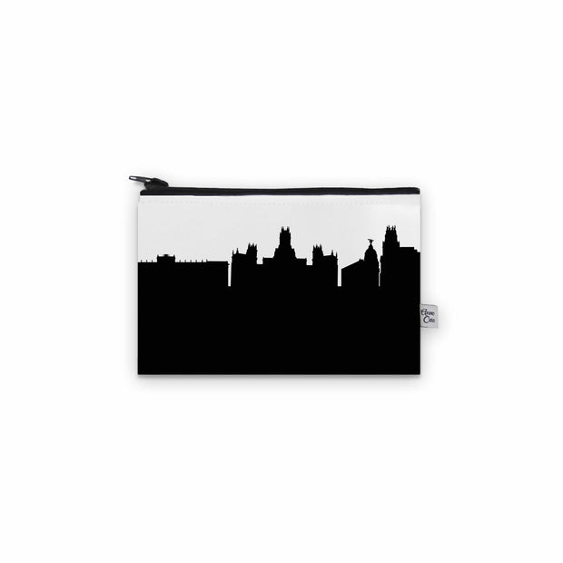 Madrid Spain Skyline Mini Purse