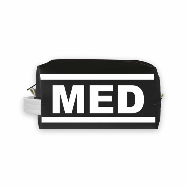 MED (Medina) Travel Dopp Kit Toiletry Bag