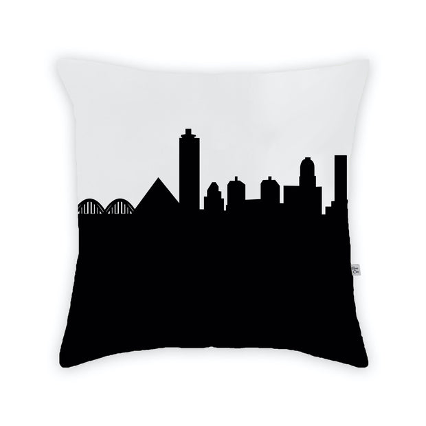 Memphis TN Skyline Large Throw Pillow