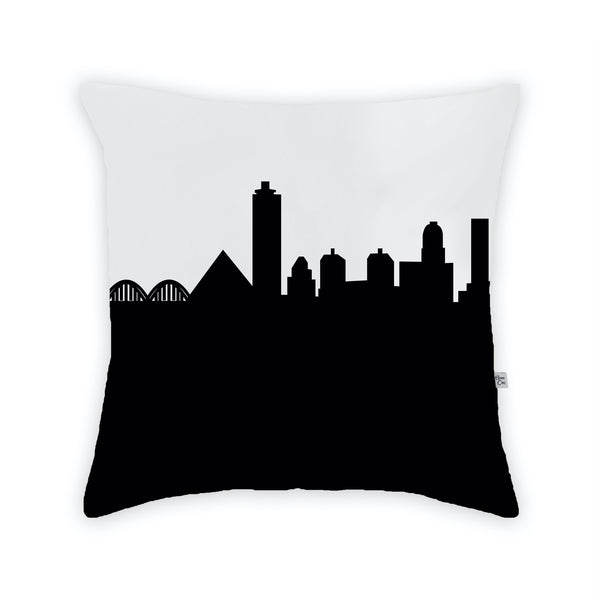 Memphis Large Throw Pillow by Anne Cate