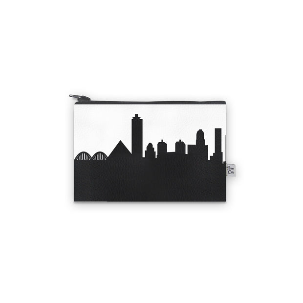 Memphis TN Skyline Mini Wallet (Vegan Leather)