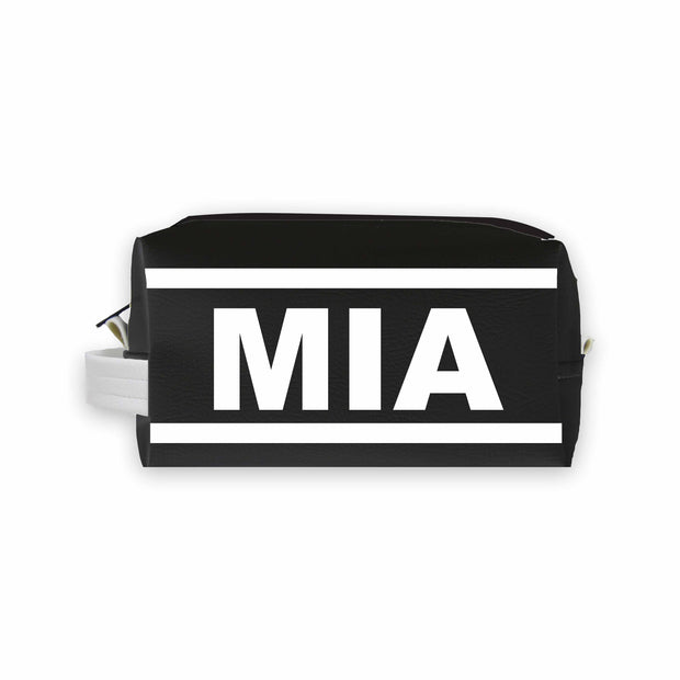 MIA (Miami) Travel Dopp Kit Toiletry Bag