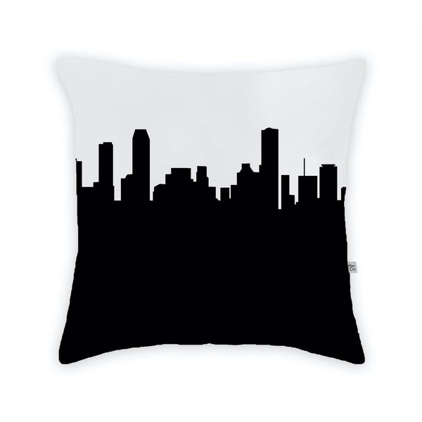 Miami Large Throw Pillow by Anne Cate