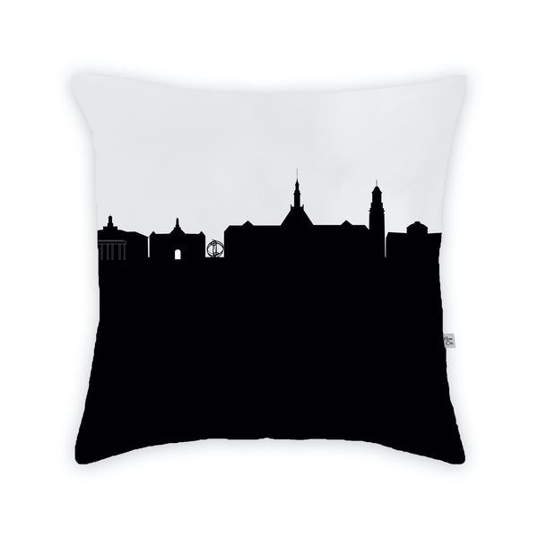 Oxford, OH (Miami University) Large Throw Pillow by Anne Cate