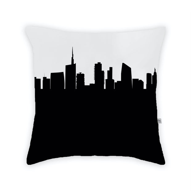 Milan Italy Skyline Large Throw Pillow