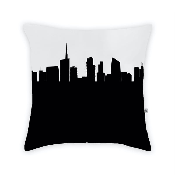 Milan Large Throw Pillow by Anne Cate