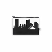 Milwaukee WI Skyline Mini Wallet (Vegan Leather)