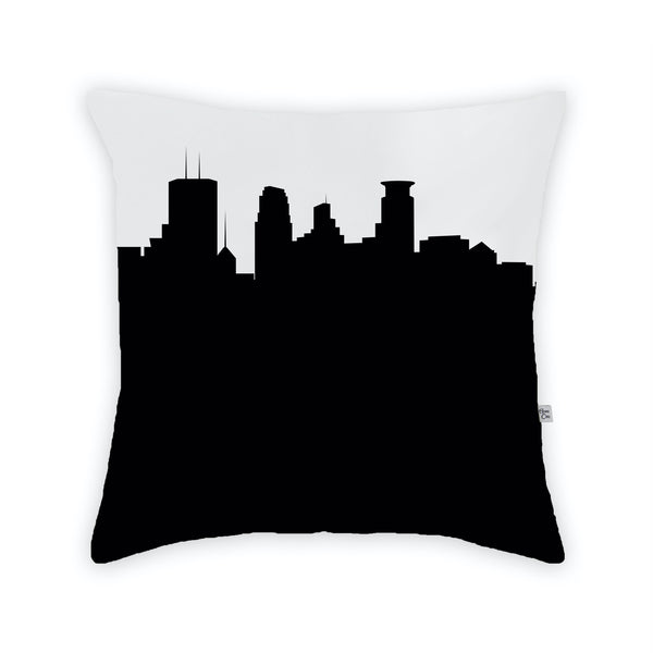 Minneapolis Large Throw Pillow by Anne Cate