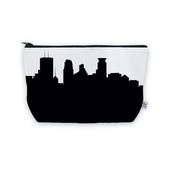 Minneapolis Makeup Cosmetic Bag by Anne Cate