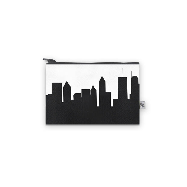 Montreal Canada Skyline Mini Wallet (Vegan Leather)