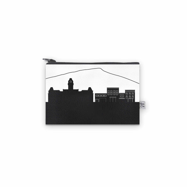 Morgantown WV Skyline Mini Wallet (Vegan Leather)