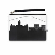 Morgantown WV Skyline Wristlet Clutch (Vegan Leather)