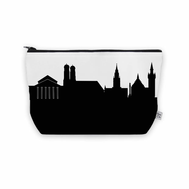 Munich Germany Skyline Cosmetic Makeup Bag