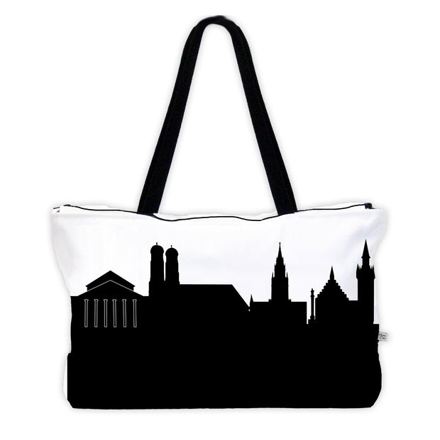 Munich Germany Skyline Weekender Tote