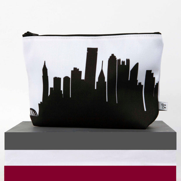 Fort Wayne IN Skyline Cosmetic Makeup Bag