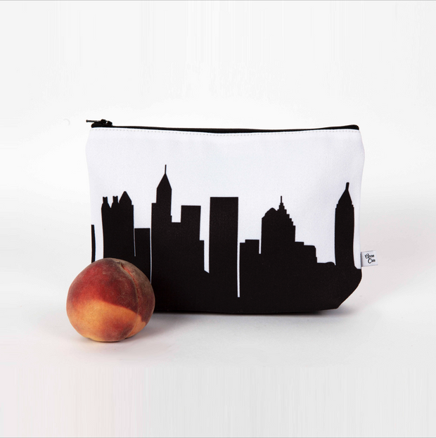 Indianapolis IN Skyline Cosmetic Makeup Bag