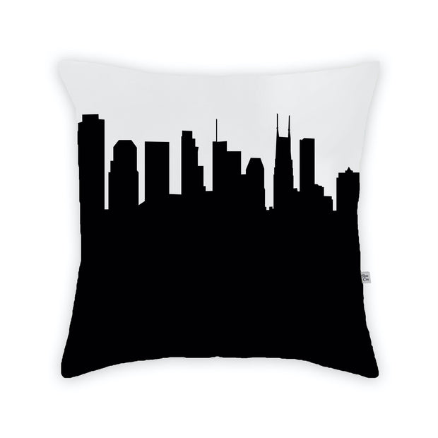 Nashville TN Skyline Large Throw Pillow