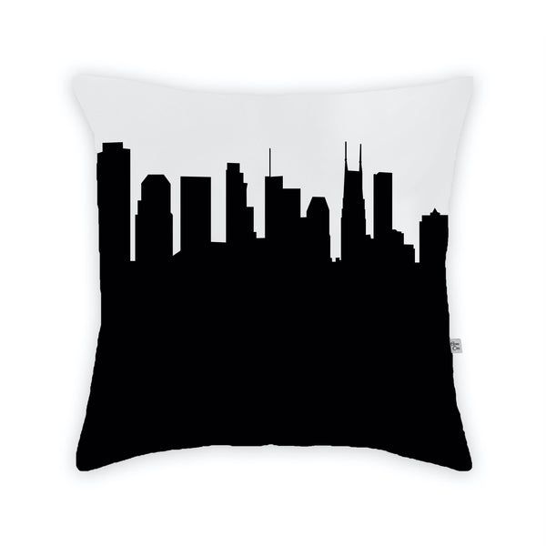 Nashville Large Throw Pillow by Anne Cate