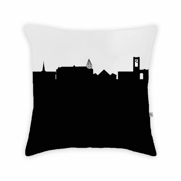 North Canton OH Skyline Large Throw Pillow