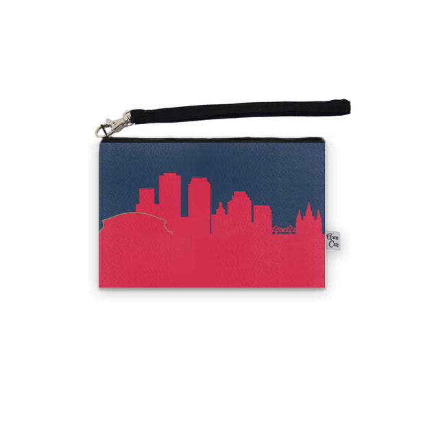 New Orleans LA Game Day Wristlet - Stadium Approved - CUSTOMIZE IT!