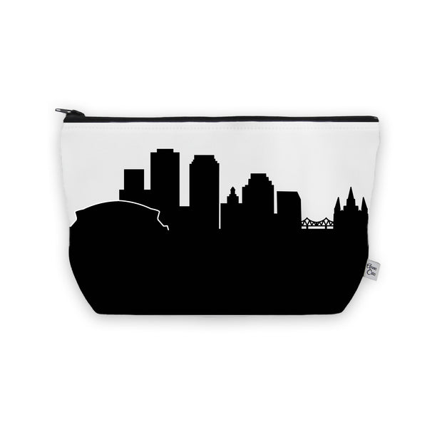 New Orleans LA Skyline Cosmetic Makeup Bag
