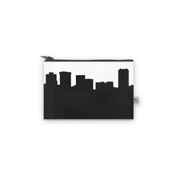 Norfolk VA Skyline Mini Wallet (Vegan Leather)