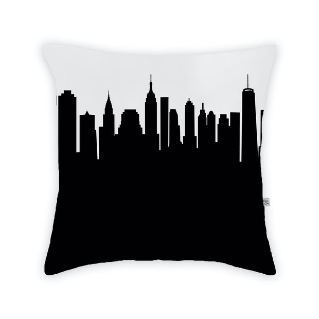 New York City NY Skyline Large Throw Pillow