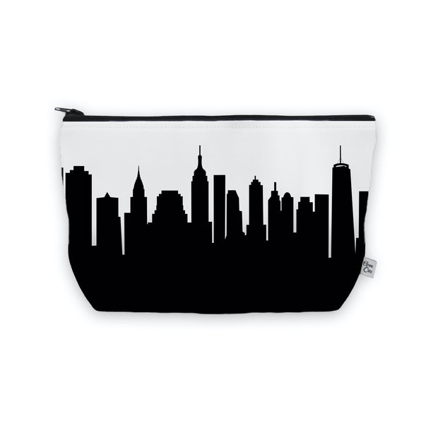 New York City NY Skyline Cosmetic Makeup Bag