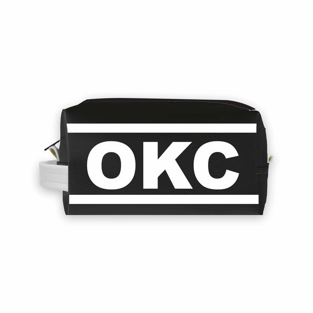 OKC (Oklahoma City) Travel Dopp Kit Toiletry Bag