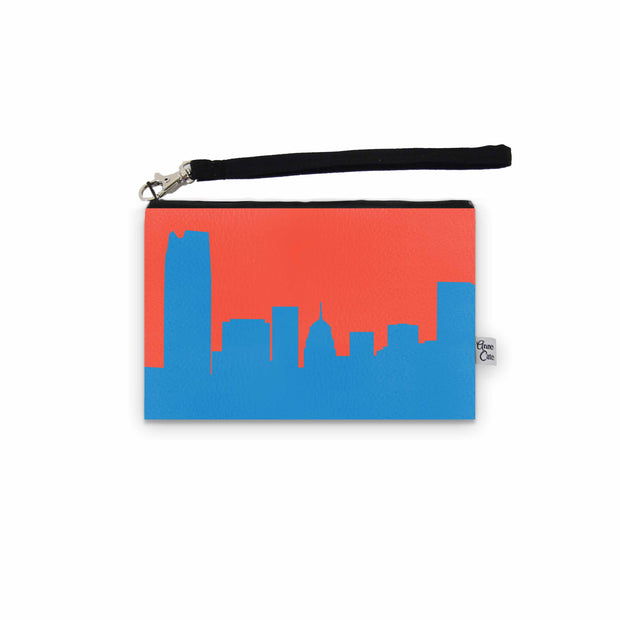 Oklahoma City OK Game Day Wristlet - Stadium Approved - CUSTOMIZE IT!