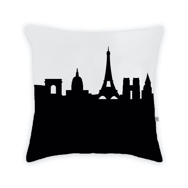 Paris Large Throw Pillow by Anne Cate