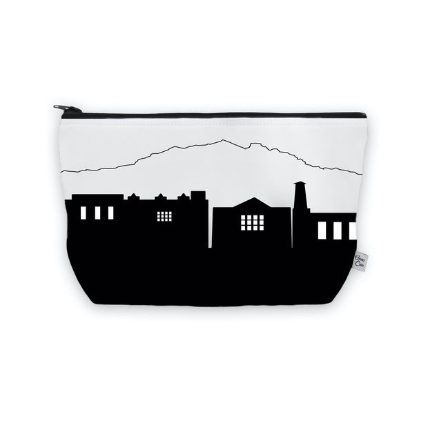 Park City UT Skyline Cosmetic Makeup Bag