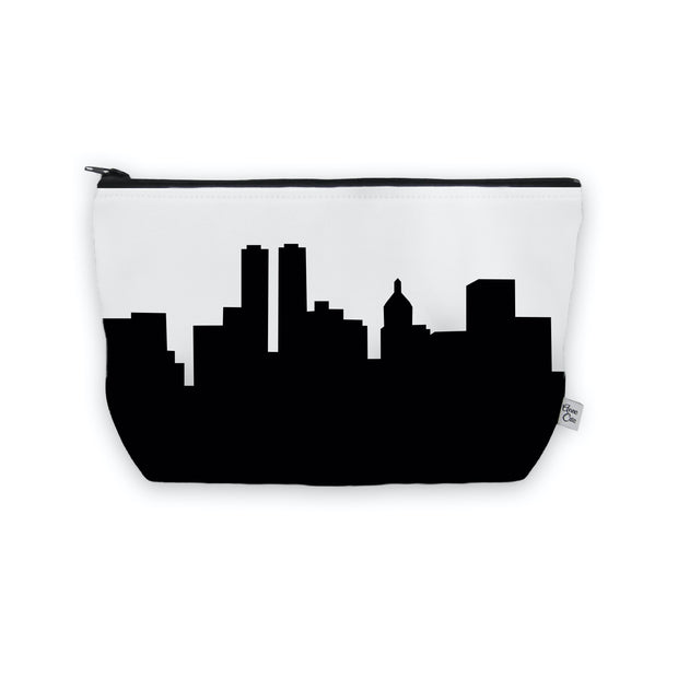 Peoria IL Skyline Cosmetic Makeup Bag