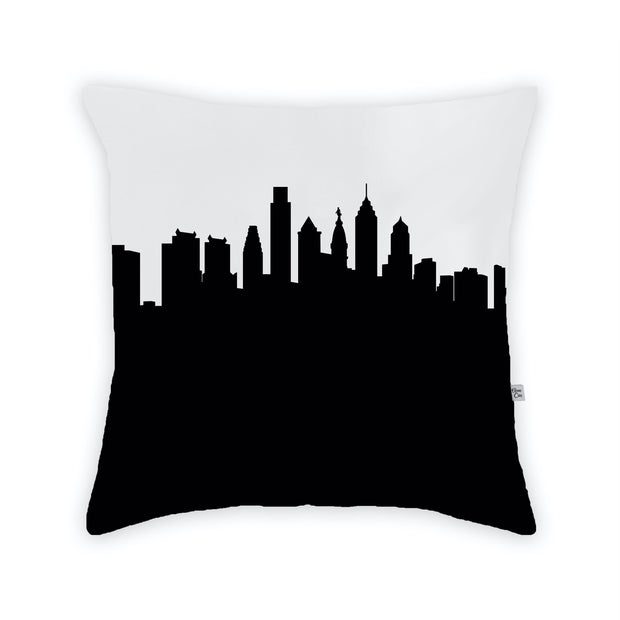 Philadelphia PA Skyline Large Throw Pillow