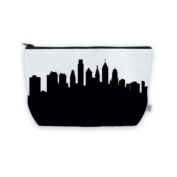 Philadelphia Makeup Cosmetic Bag by Anne Cate