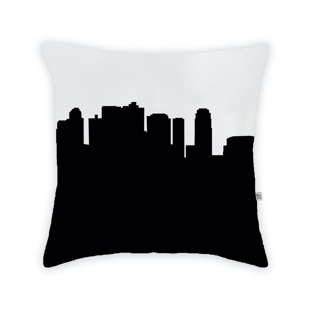 Phoenix AZ Skyline Large Throw Pillow