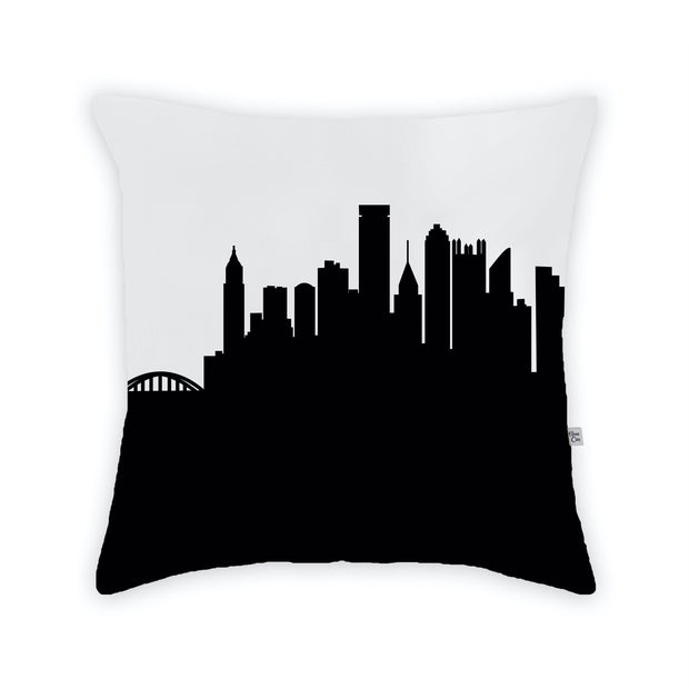 Pittsburgh PA Skyline Large Throw Pillow