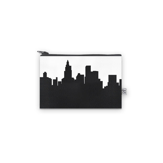 Providence RI Skyline Mini Wallet (Vegan Leather)