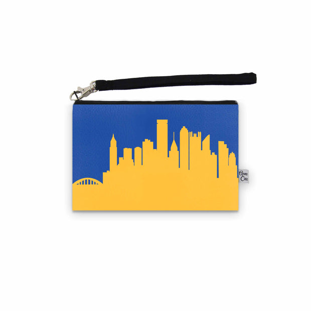 Pittsburgh PA Game Day Wristlet - Stadium Approved - CUSTOMIZE IT!