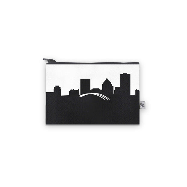 Rochester NY Skyline Mini Wallet (Vegan Leather)